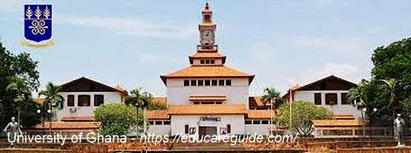 Entry Requirements For All Programs Of University Of Ghana