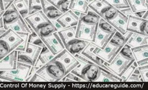 ways to control money supply in an economy