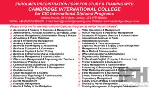 Cambridge Online Courses Diploma