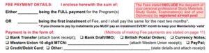 Cambridge Enrollment - Fees Payment Methods