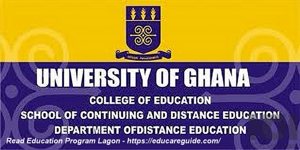 Can I Read Education Program At Legon - A Checklist Of Education Courses At University Of Ghana