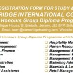 Honours Diploma Offered By Cambridge International College