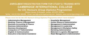 Honours Diploma Cambridge College