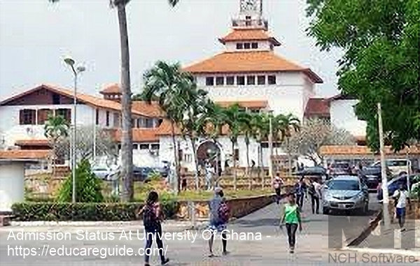 UG Admission Status Checker 2020 - Full List Of Students Admitted At University of Ghana For 2020/2021 Academic Year