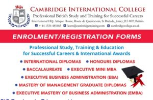 How Enroll Cambridge International College