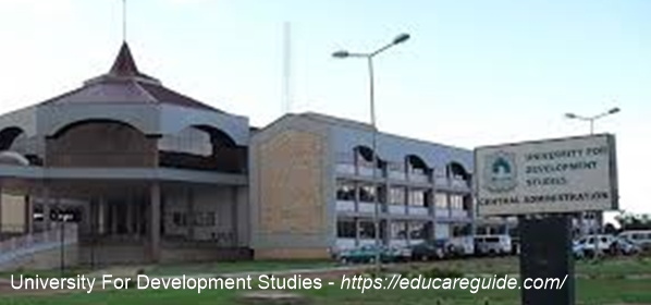 UDS Student Login Portal - University For Development Studies