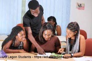 Science Courses In Legon University