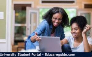UEWStudent Portal Login page