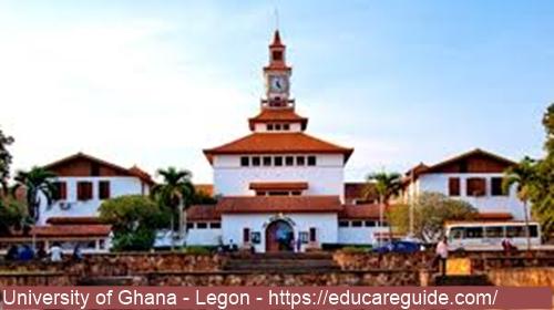 Does Legon Accept D7 Grade - University Of Ghana C5, C6, D7, E8 F9