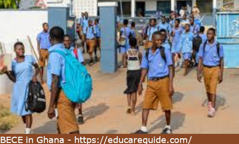 BECE Private Candidates Exams 2021 In Ghana - JHS Exam In Ghana Commencement