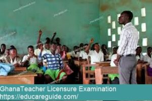 ghana teacher licensure examination