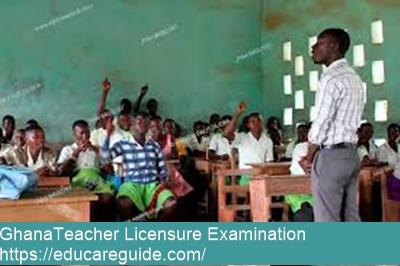 ghana teacher licensure examination