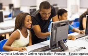 kenyatta university online application process