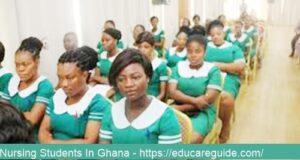 nursing training colleges in ghana