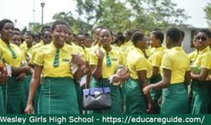 wesley girls' high school prospectus
