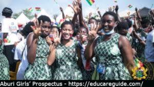 aburi girls' high school prospectus