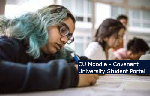 Moodle Login Covenant University Portal - Covenant University Students Portal Login Page