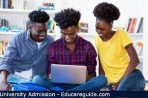 uoe online admission process