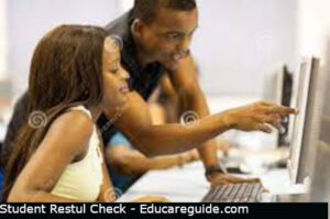 how to check legon results online