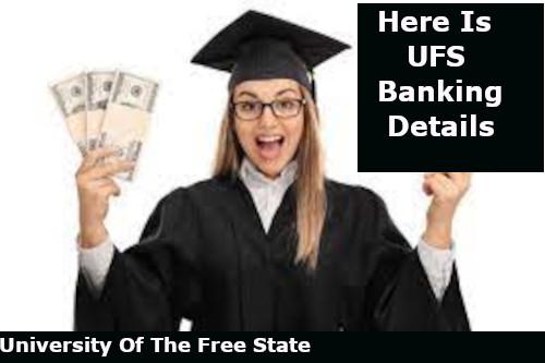 ufs banking details for