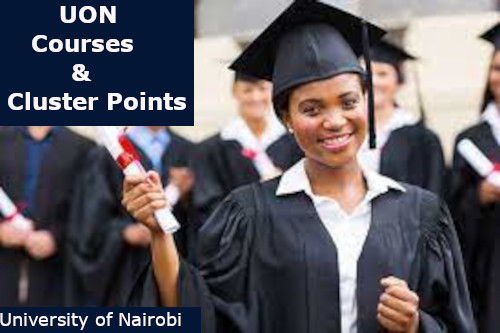 uon courses and cluster points